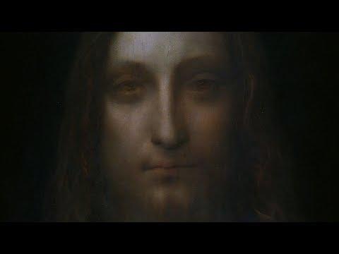 da vinci christ painting sells
