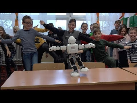 friendly robocop teaches kids about web safety