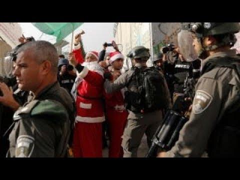 protests put damper on christmas