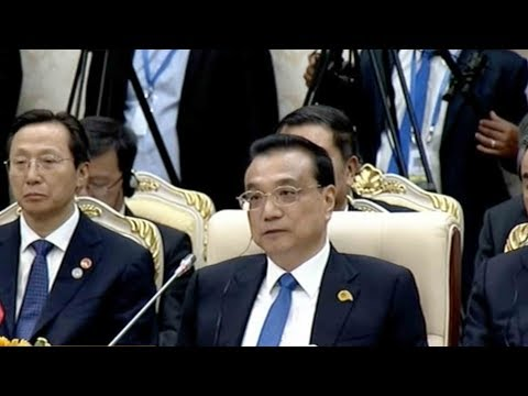 chinese premier arrives in cambodia