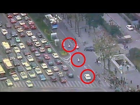 amazing video of police escort saving girls life