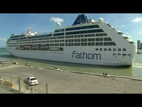 first us to cuba cruise in decades sets sail