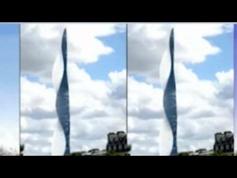 dubai luxury hotel builds rotating rooms