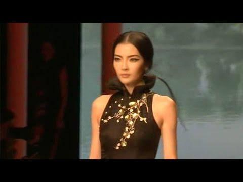 Arab Today, arab today qipao dress featured at beijing fashion show