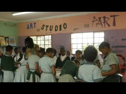 Arab Today, arab today art program benefits disadvantaged children in soweto
