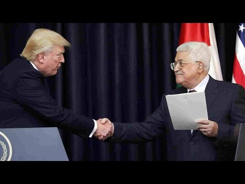 Arab Today, arab today trump meets israeli palestinian leaders
