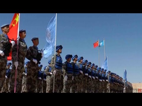 Arab Today, arab today fourth batch of chinese peacekeepers return