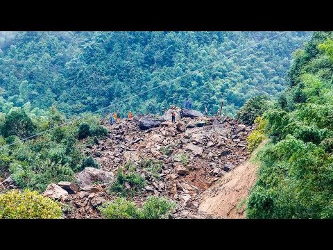 Arab Today, arab today six missing after landslide