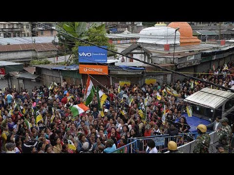 Arab Today, arab today thousands protest in darjeeling rally