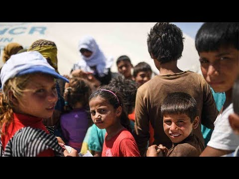 Arab Today, arab today displaced syrians facing blistering summer heat