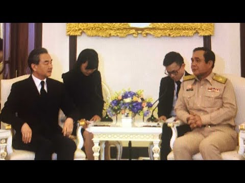 Arab Today, arab today chinese fm wang yi meets thai pm