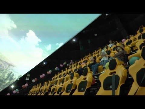new dome cinema by worlds largest radio telescope opened
