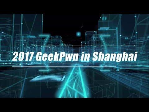 live 2017 geekpwn in shanghai 2017