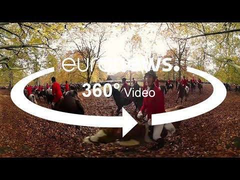 experience the traditional hubertus horse race in 360°