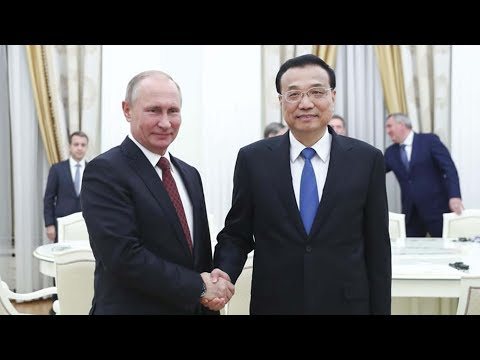 chinese premier pledges joint efforts with russia