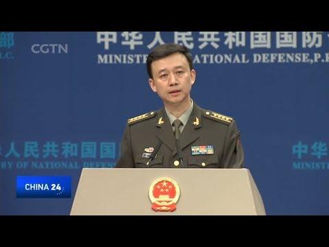 chinas defense ministry responds
