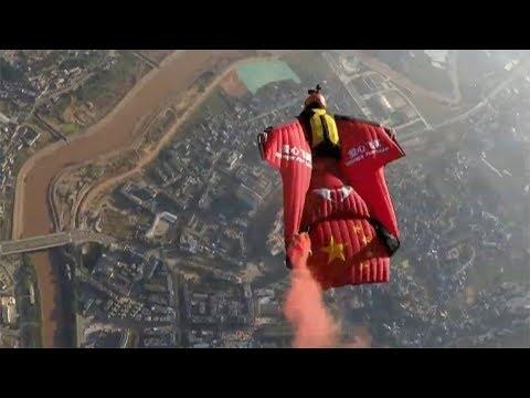wingsuit flying world cup attracts international daredevils