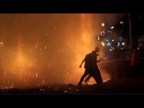 fireworks explosion burns 22