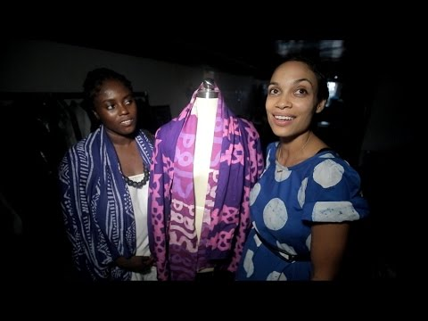 actress rosario dawsons mission for sustainable fashion