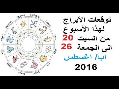 العرب اليوم - بالفيديو تعرف على ما يقوله برجك هذا الأسبوع