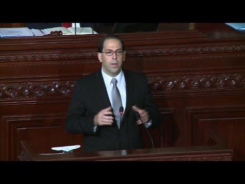 العرب اليوم - بالفيديو شاهد جلسة للبرلمان التونسي للتصويت على الثقة بالحكومة