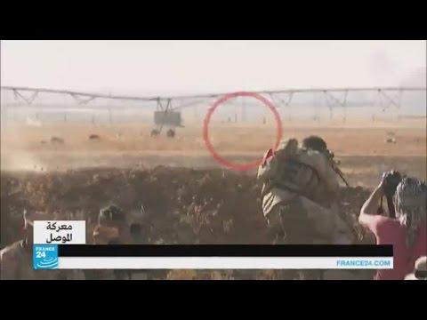 العرب اليوم - شاهد فرار عناصر تنظيم داعش