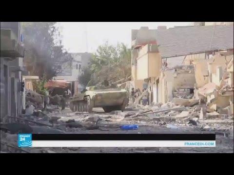 العرب اليوم - قوات الحكومة الليبية تشدد الحصار على الجهاديين في الجيزة البحرية