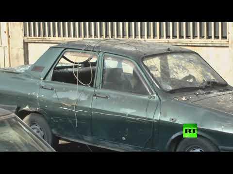 العرب اليوم - شاهد مسلحون يقصفون حي الأكرمية في حلب