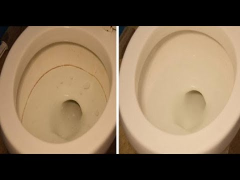 شاهدمُطهر طبيعي فعّال يخلصك من ترسبات المرحاض الصعبة