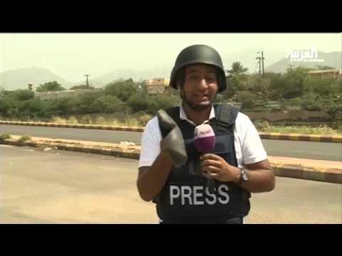 العرب اليوم - بالفيديو: القوات السعودية تقصف مواقع لميليشيات