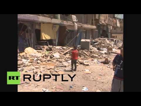 العرب اليوم - 13 يقتلون جراء ثلاثة تفجيرات مختلفة في بغداد