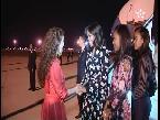 العرب اليوم - شاهد لحظة استقبال الأميرة للا سلمى لميشيل أوباما