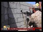 العرب اليوم - بالفيديو القوات الليبية تسيطر على جرافة في عرض البحر