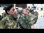 العرب اليوم - شاهد تخريج دفعة عسكريين للتنقيب عن الألغام في حلب