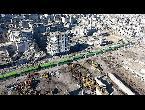 العرب اليوم - شاهد الحافلات الخضراء رمزًا للتغيير الديموغرافي في سورية