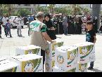 العرب اليوم - شاهد السعودية توزع وجبات إفطار صائم على السوريين في تركيا