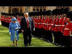 الملكة إليزابيث تستقبل ترامب في قلعة وندسور