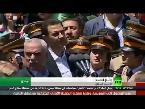 العرب اليوم - بالفيديو: الأسد ينفي هزيمته بخسارة الجيش الحكومي