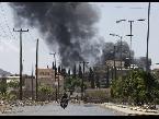 العرب اليوم - شاهد..هجوم بالصواريخ في مقر إقامة رئيس الوزراء اليمني