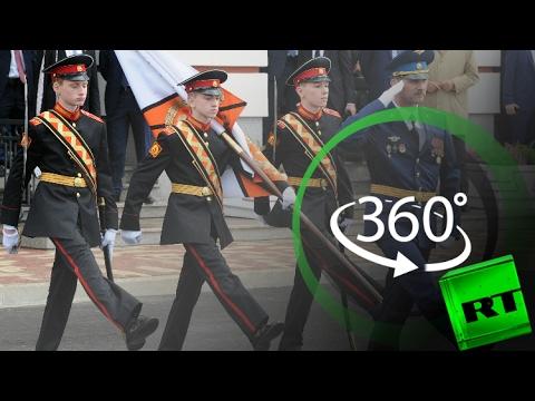 العرب اليوم - الحياة اليومية لطلاب مدرسة عسكرية روسية بتقنية 360