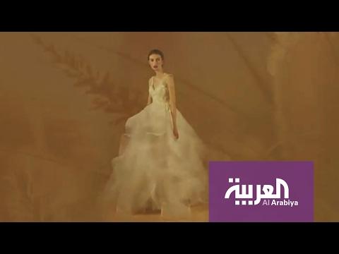 العرب اليوم - بالفيديو فساتين أعراس مستوحاة من سنابل القمح