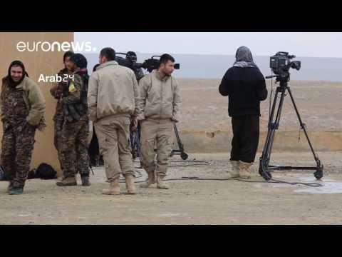 العرب اليوم - قوات سورية الديمقراطية تعلن مقتل 124 من عناصر داعش