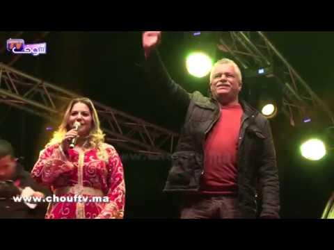 العرب اليوم - شاهد  استقبال رائع للفنان الكوميدي الخياري في وجدة
