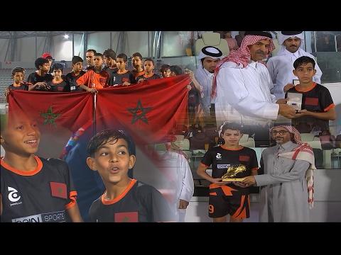 العرب اليوم - شاهد لحظة تتويج أشبال المغرب بالميداليات الفضية في بطولة كأس ج العالمية