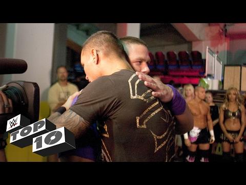 العرب اليوم - بالفيديو أقوى 10 أحضان على حلبات المصارعة