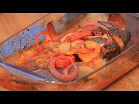 العرب اليوم - شاهد طريقة إعداد صينية سمك بلطي جزل