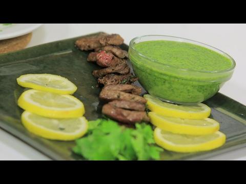 العرب اليوم - شاهد طريقة إعداد مكعبات اللحم بالثوم و البقدونس