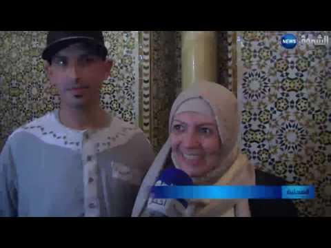 العرب اليوم - جارة ميسي في الأرجنتين تعتنق الإسلام في مسجد الأمير عبد القادر