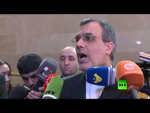 العرب اليوم - شاهد  الأنصاري يؤكد أن أستانا ليست بديلًا عن جنيف