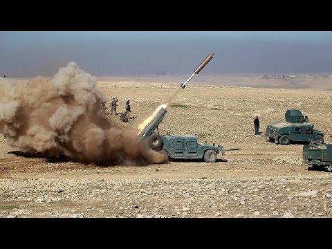 العرب اليوم - شاهد القوات العراقية تواصل عملياتها من أجل تطهير غرب الموصل
